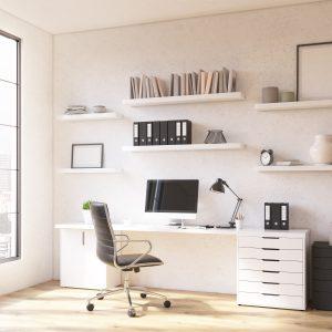 werkplek thuis kantoor bureaustoel