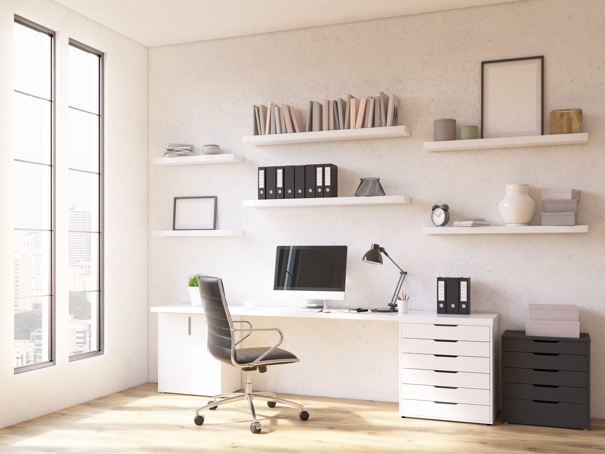Thuiswerkplek kantoor thuis